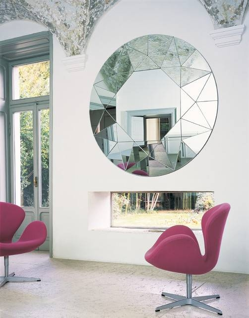Mirror 01252 – Modern – Living Room – Philadelphia  Usona Regarding Modern Bedroom Mirrors (#10 of 15)