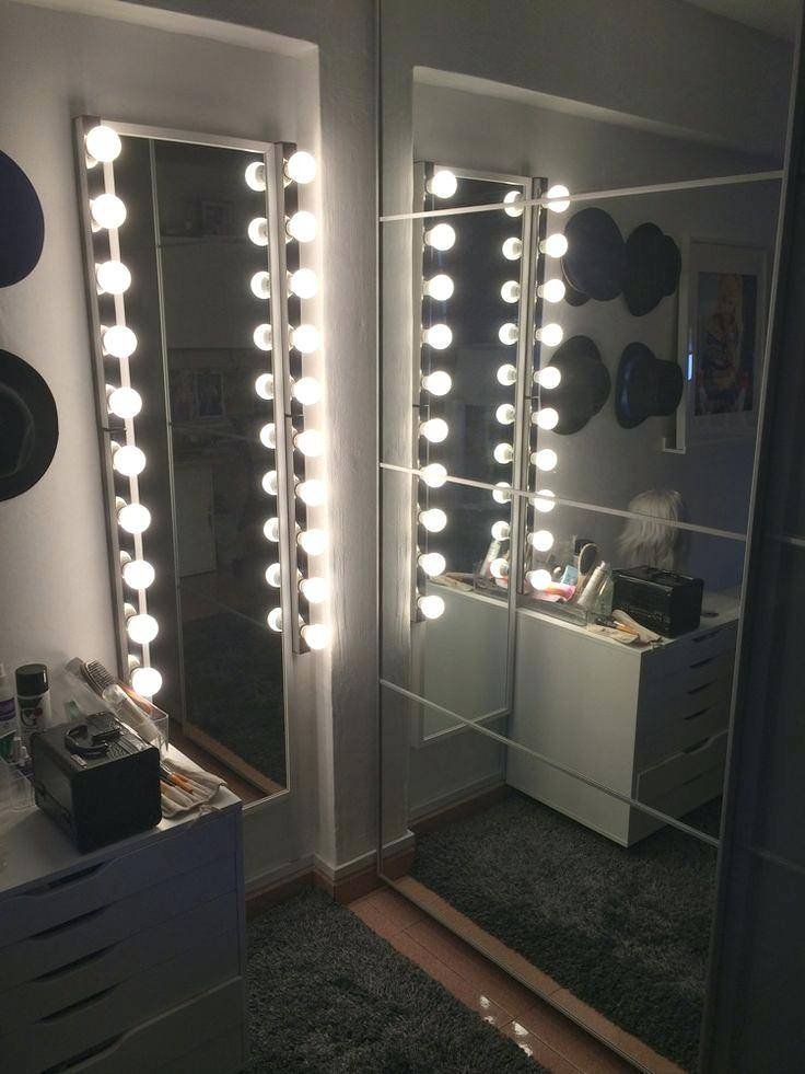 Mirror Bathroom Led Wall Mirror Bathroom Mirror With Led Light Intended For Wall Mirrors With Light (#11 of 15)
