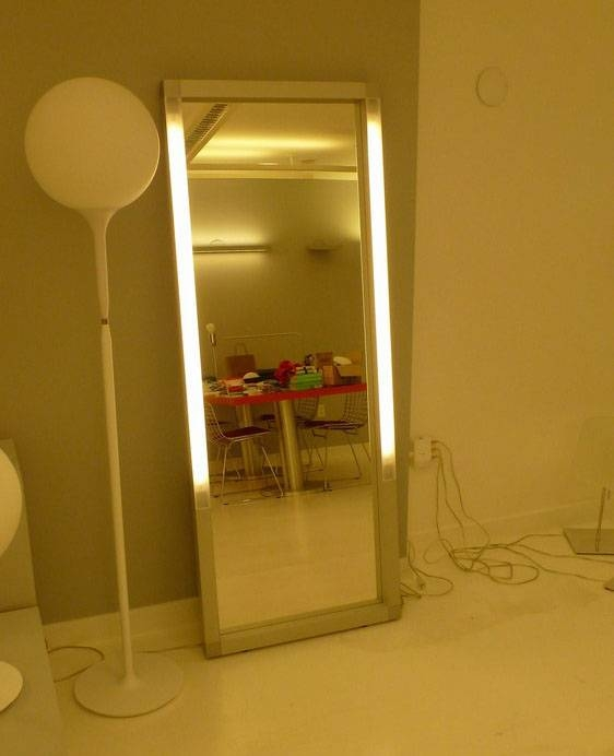 Mirror Bathroom Led Wall Mirror Bathroom Mirror With Led Light Within Light Wall Mirrors (#11 of 15)