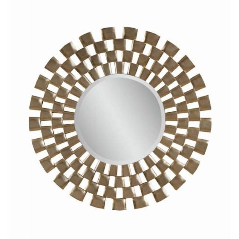 Mirror Company 48 Inch Modern Round Wall Mirror Bm M3222B Regarding Bassett Wall Mirrors (#9 of 15)