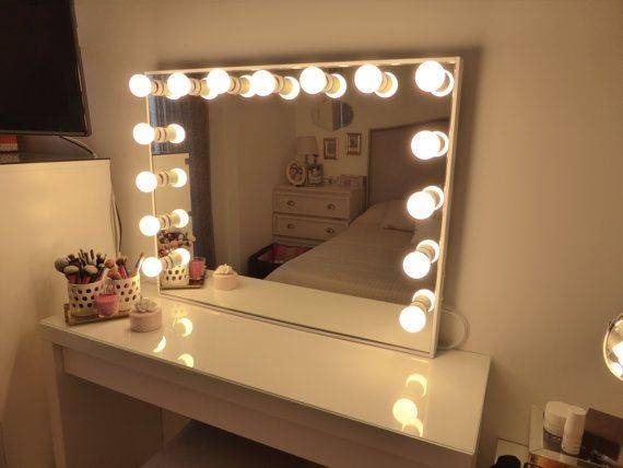 Mirror Design Ideas Recharge Complete Ikea Bathroom Mirrors With With Wall Mirrors With Light Bulbs (#10 of 15)