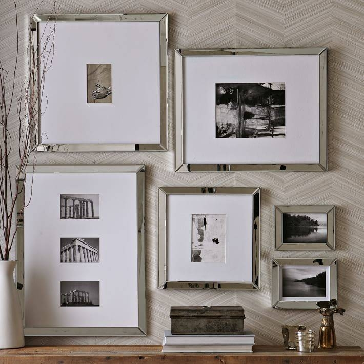 Mirror Gallery Frames | West Elm Regarding Frames For Wall Mirrors (View 4 of 15)
