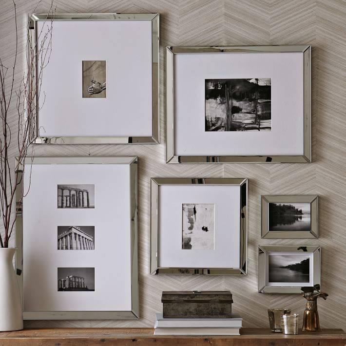 Mirror Gallery Frames | West Elm Regarding Frames For Wall Mirrors (#13 of 15)