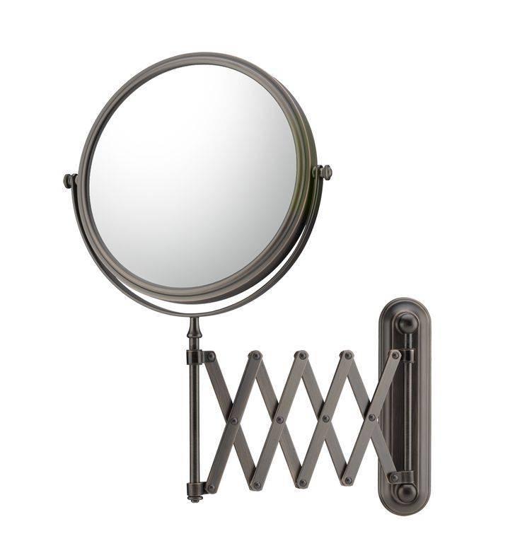 Mirror Image Extension Arm Wall Mirror Pertaining To Extension Arm Wall Mirrors (#13 of 15)