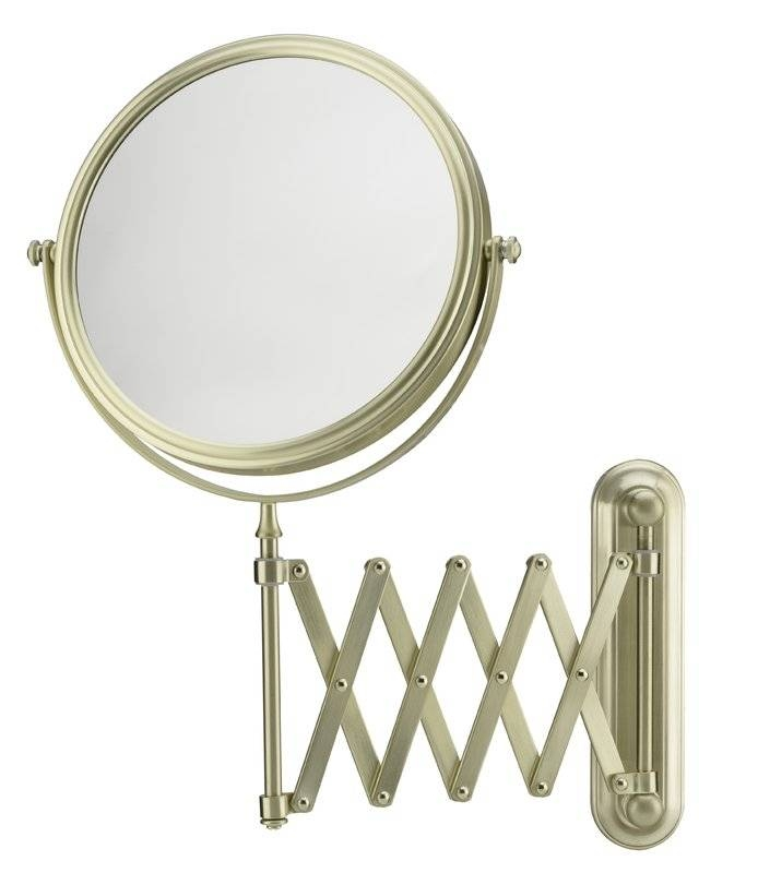 Popular Photo of Extension Arm Wall Mirrors