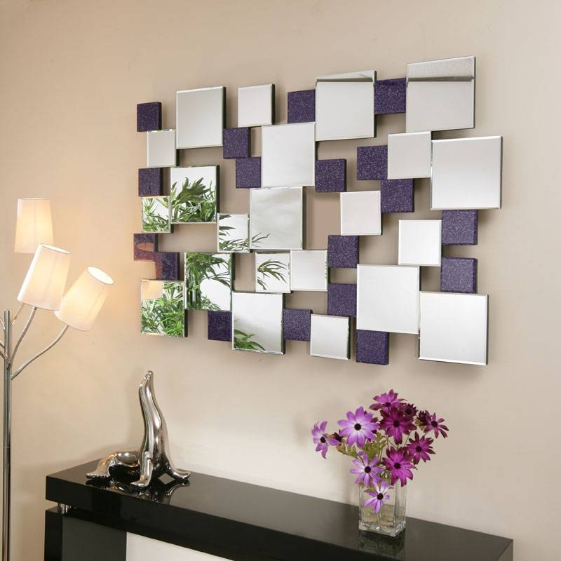 Mirror Image Mirrors And Wall Art With Peel And Stick Mirror Wall Within Abstract Wall Mirrors (View 2 of 15)