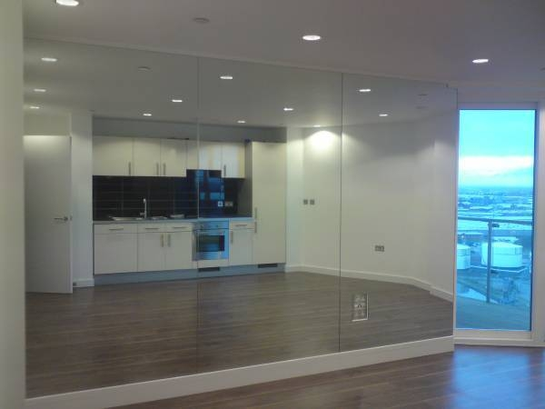 Mirror Installers In Liverpool, St Helens, Warrington, Merseyside Intended For Gym Full Wall Mirrors (#11 of 15)