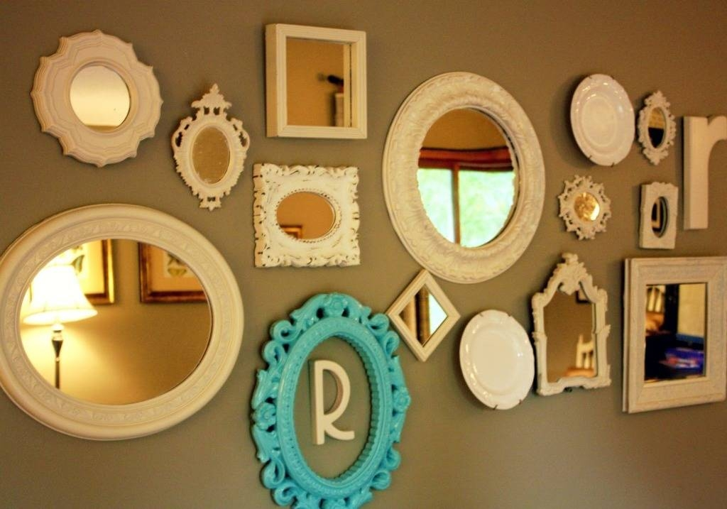 Mirror Sets Wall Decor The Home Design : The Beauty Of Mirror Wall Pertaining To Small Decorative Wall Mirrors (View 5 of 15)