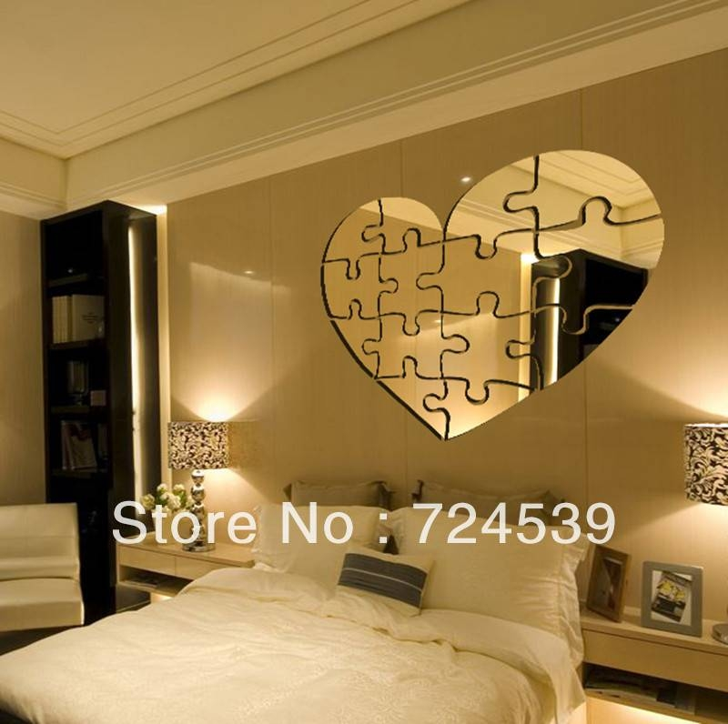 Mirror Stickers For Walls – Todosobreelamor Within Wall Mirror Stickers (#8 of 15)