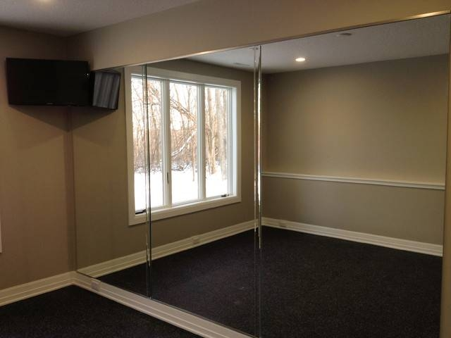Mirror Wall In Home Gym – Other  Ford Metro Inc Throughout Wall Mirrors For Home Gym (#12 of 15)