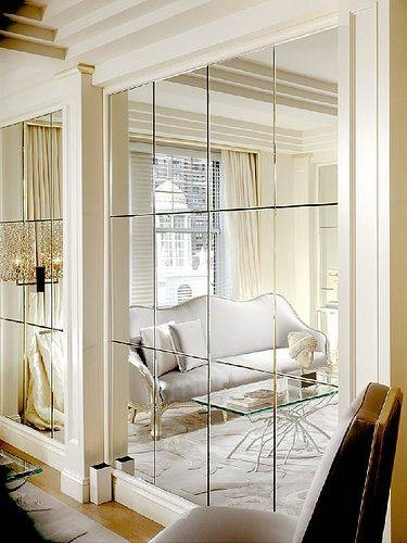 Mirror Walls] Best 25 Mirror Walls Ideas On Pinterest Wall Mirror In Wall Mirrors For Bedrooms (#13 of 15)