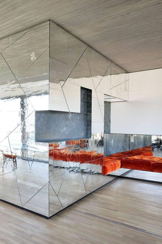 Mirror Walls] Best 25 Mirror Walls Ideas On Pinterest Wall Mirror Pertaining To Mirrored Wall Mirrors (View 10 of 15)