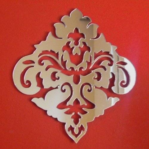 Mirrors – 50Cm X 45Cm With Damask Mirrors (#14 of 15)