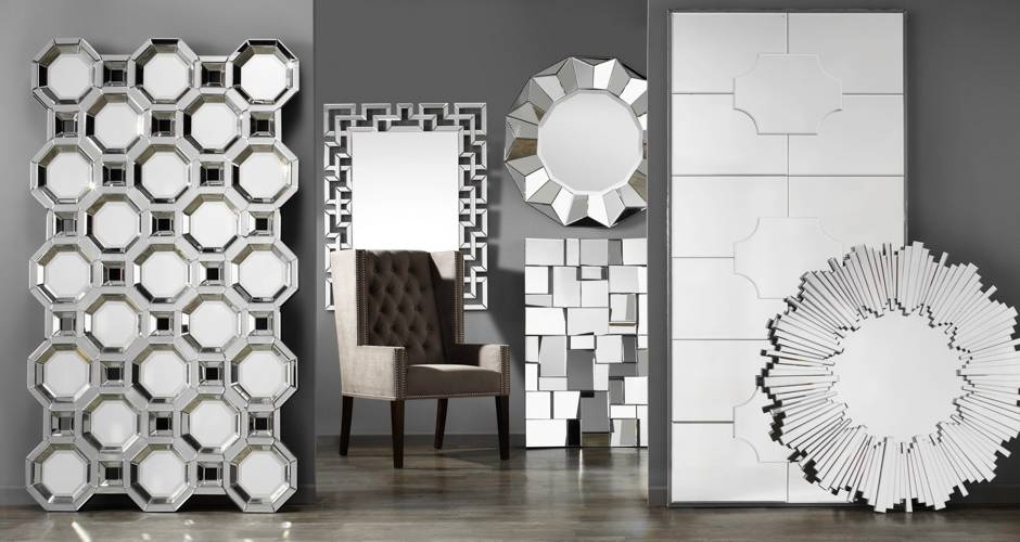 Mirrors | Accent, Wall & Large Floor Mirrors | Z Gallerie With Regard To Black Wall Mirrors For Sale (#15 of 15)