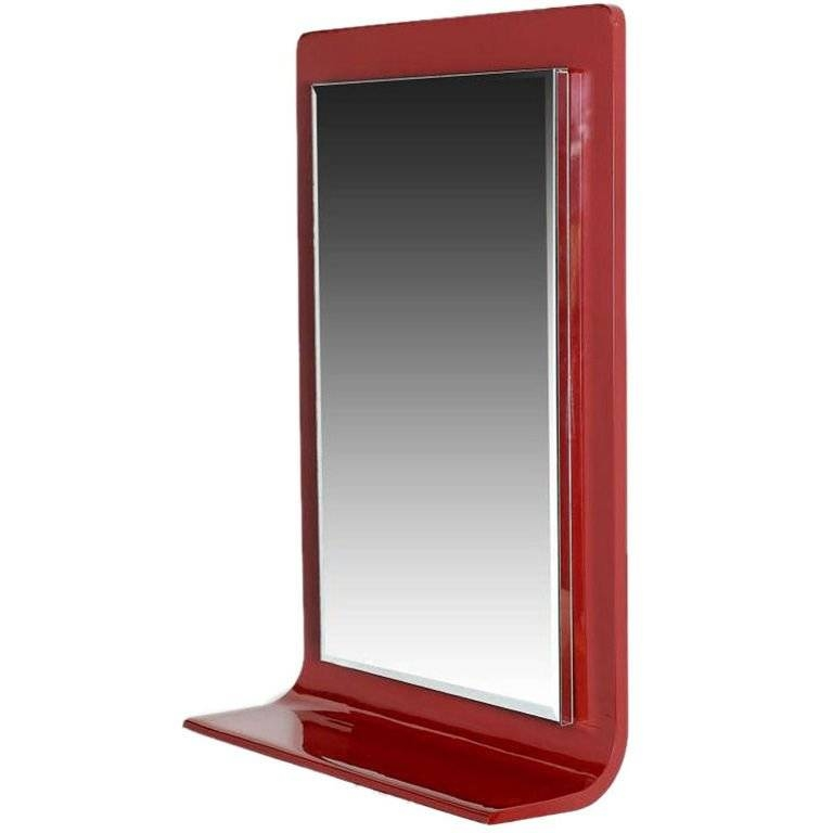 15 Best Collection of Red Framed Wall Mirrors