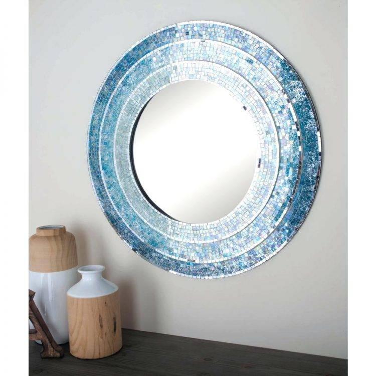 Mirrors : Blue Framed Wall Mirror Blue Framed Wall Mirror Blue Pertaining To Blue Framed Wall Mirrors (#6 of 15)