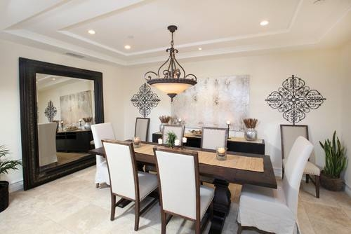 Mirrors Dining Room – Large And Beautiful Photos (#11 of 15)