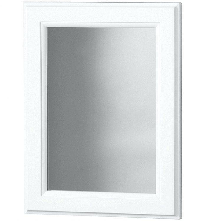 Mirrors : Large White Mirror Amazon Large White Mirrors For Walls Intended For White Long Wall Mirrors (#6 of 15)