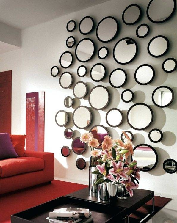 Mirrors : Nice Mirrors Living Room Unique Bubble Wall Mirrors Inside Bubble Wall Mirrors (#5 of 15)