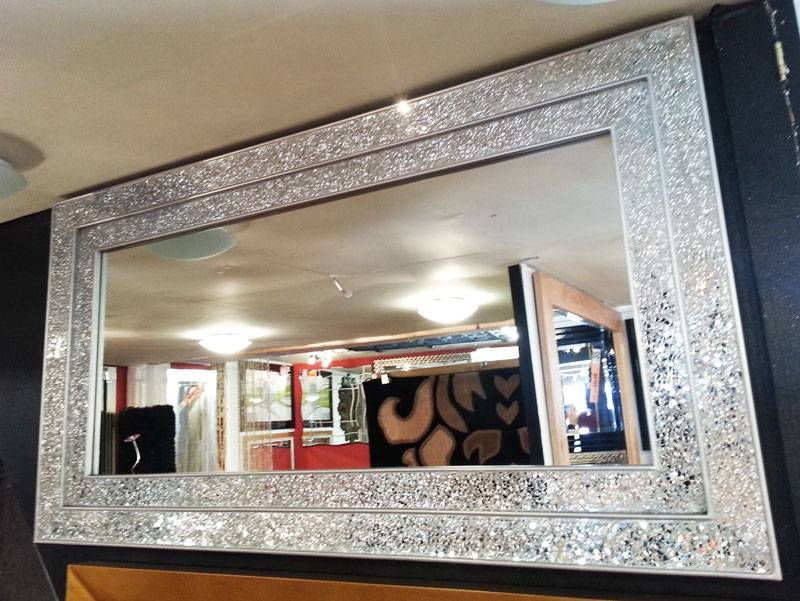 Mirrors : Premier Collections!, Interior Furnishings Contemporary With Regard To Large Silver Framed Wall Mirror (#11 of 15)