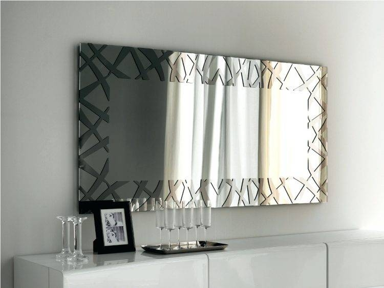 Inspiration about Mirrors : Very Large Contemporary Mirrors Extra Large Modern Wall Pertaining To Xl Wall Mirrors (#11 of 15)