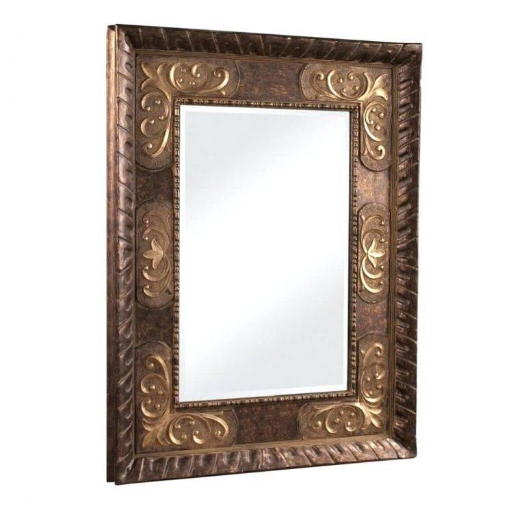 Mirrors : Vintage Style Wall Mirrors Wonderful Baroque Mirrors For Vintage Style Wall Mirrors (#6 of 15)