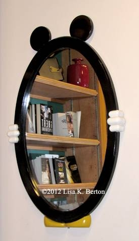 Mirrors, Water, And Shiny Surfaces (picture This!) Intended For Mickey Mouse Wall Mirrors (View 3 of 15)