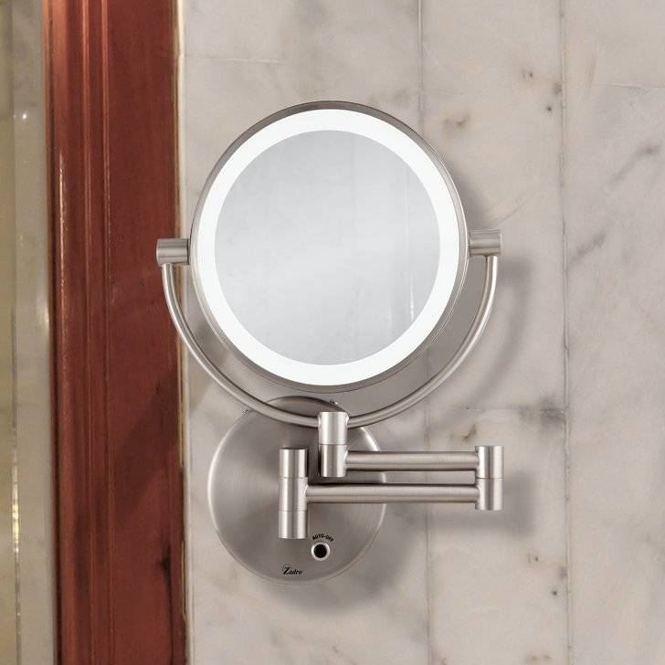Mirrors With Lights You'll Love | Wayfair Regarding Lighted Wall Mirrors (#10 of 15)