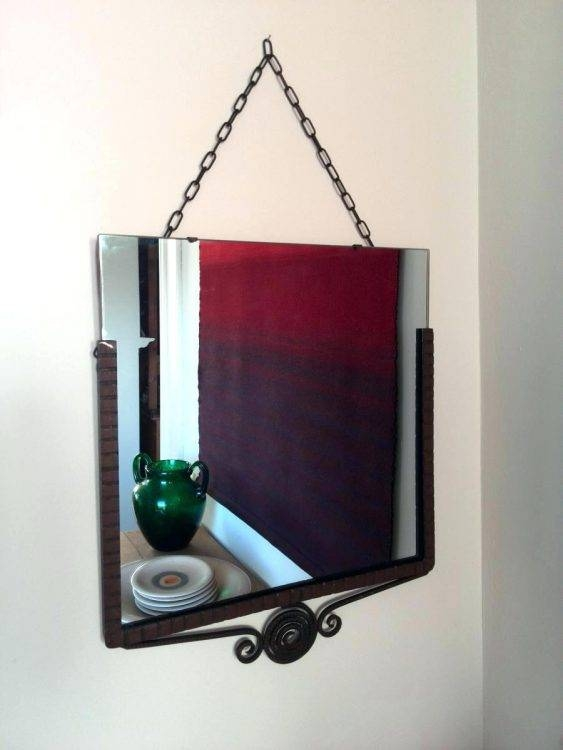 Mirrors : Wrought Iron Wall Mirror Antique Wrought Iron Wall Within Mickey Mouse Wall Mirrors (View 11 of 15)