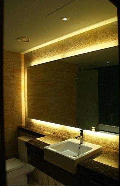 Modern Bathroom Light Mirror,backlit Wall Mirrors,16 Years Supply Intended For Backlit Wall Mirrors (#12 of 15)