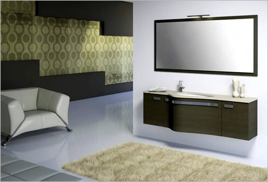 Modern Framed Bathroom Mirrors The Bathroom Mirrors Contemporary In Modern Framed Mirrors (#13 of 15)