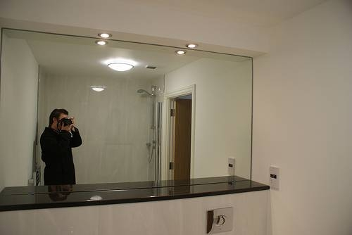 Modern Manificent Bathroom Wall Mirrors Comtemporary 34 Bathroom Throughout Full Wall Mirrors (View 11 of 15)