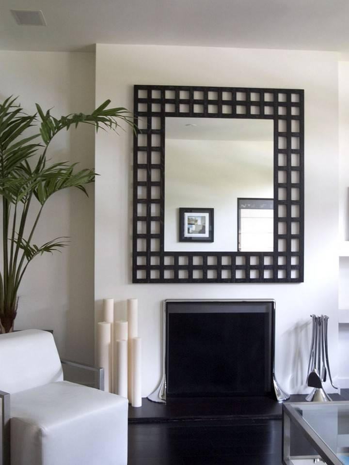 mirrors in living rooms 15 best collection of modern living room mirrors 17219