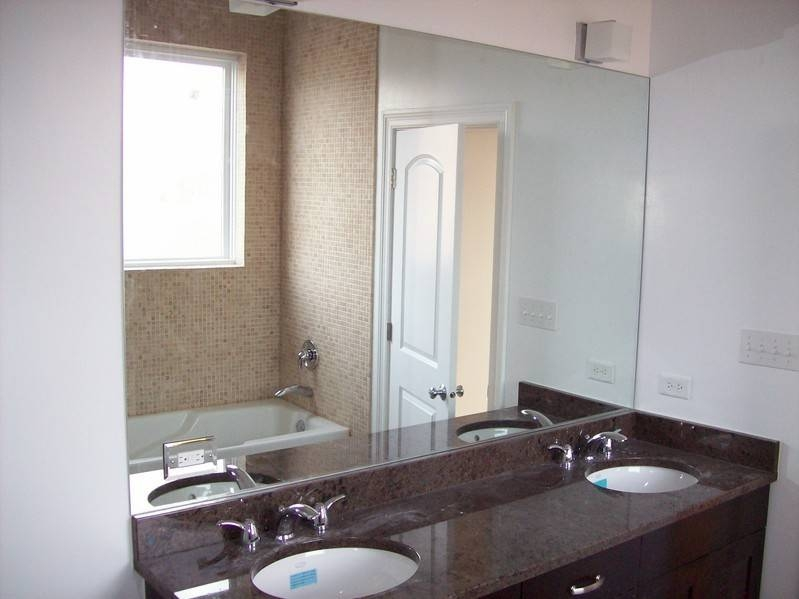 Modern Modest Bathroom Wall Mirrors Large Bathroom Mirror Framed In Wall Mirrors For Bathrooms (#10 of 15)