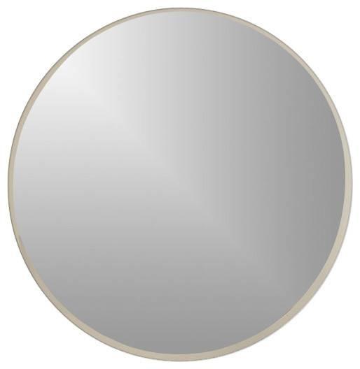 Modern Round Wall Mirror – Contemporary – Wall Mirrors  Shopladder Within Modern Round Wall Mirrors (#12 of 15)