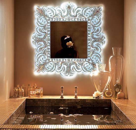Modern Wall Mirrors, New Design Ideas For Unique Room Decor Regarding Modern Decorative Wall Mirrors (#15 of 15)