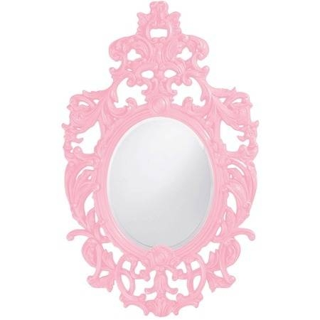 Modest Design Pink Wall Mirror Project Ideas Buy Pink Wall Mirrors In Pink Wall Mirrors (#9 of 15)