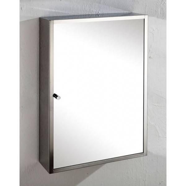 Monaco Mirror Door Bathroom Cabinet For Wall Mounting Pertaining To Bathroom Wall Mirror Cabinets (#12 of 15)
