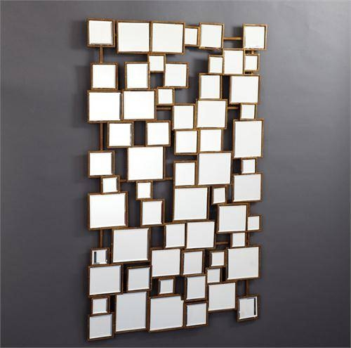 Montage Wall Mirror From Plantation Pertaining To Wall Mirrors With Art (#10 of 15)