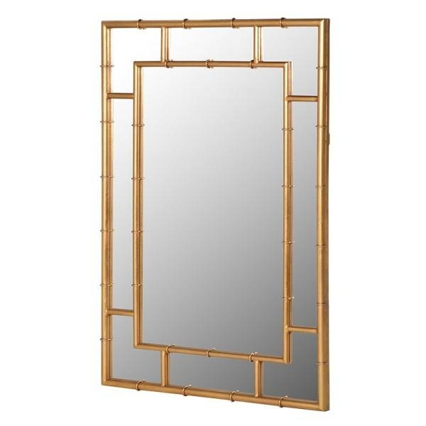 More Outlandish Large Wall Mirrorsch Furniture With Regard To Bamboo Framed Wall Mirrors (#6 of 15)