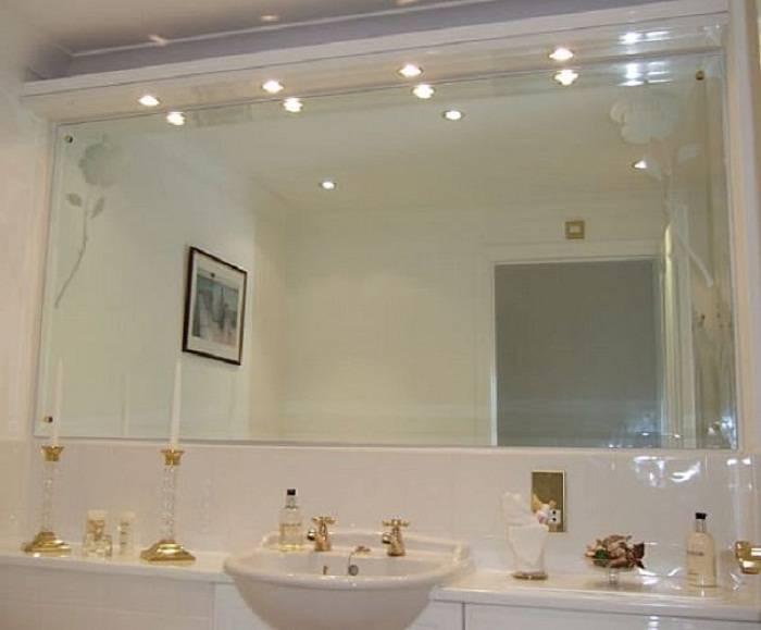 Mosaic Bathroom Decorative Wall Mirrors, Modern Bathroom Mirrors Intended For Frame Bathroom Wall Mirrors (#13 of 15)