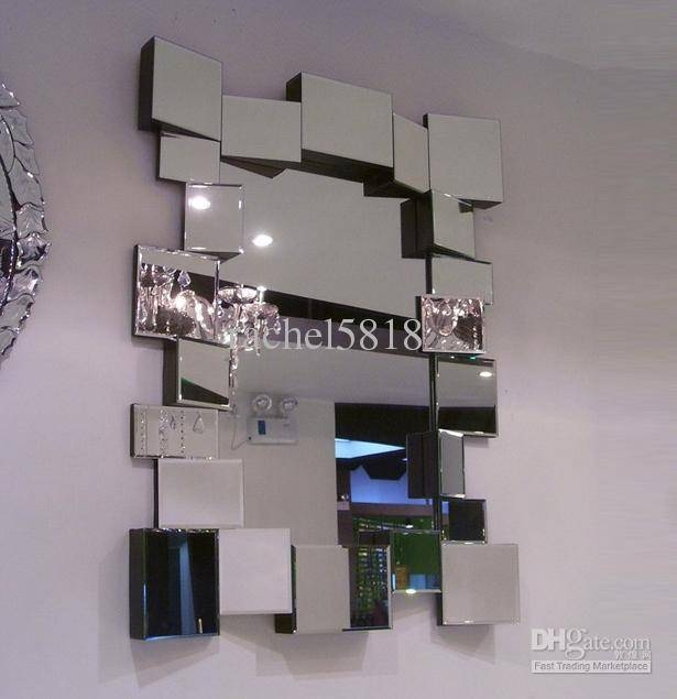 Popular Photo of Glass Wall Mirrors