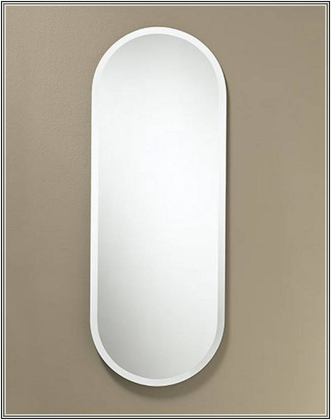 Neat Frameless Full Length Wall For Frameless Full Length Wall For Full Length Oval Wall Mirrors (#12 of 15)