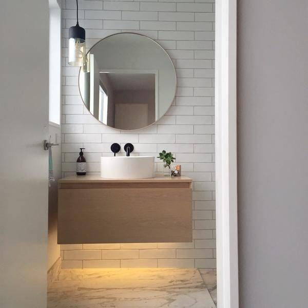 Neoteric Ideas Round Mirror For Bathroom On Bathroom Mirror – Home In Round Mirrors For Bathroom (View 10 of 15)