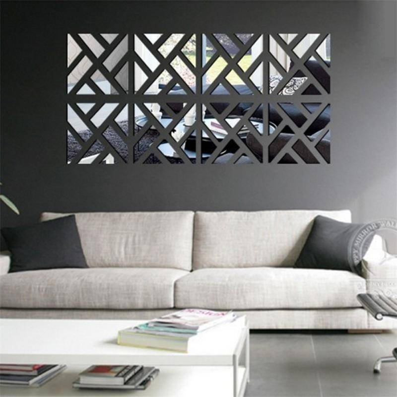 Popular Photo of Wall Mirror Stickers