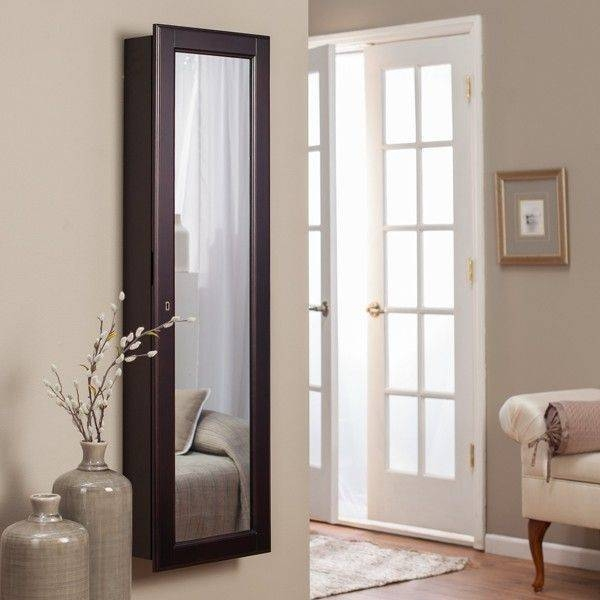 Nice Design Wall Mount Jewelry Armoire Mirror Inspiration Ideas 37 In Jewelry Armoire Wall Mirrors (#7 of 15)