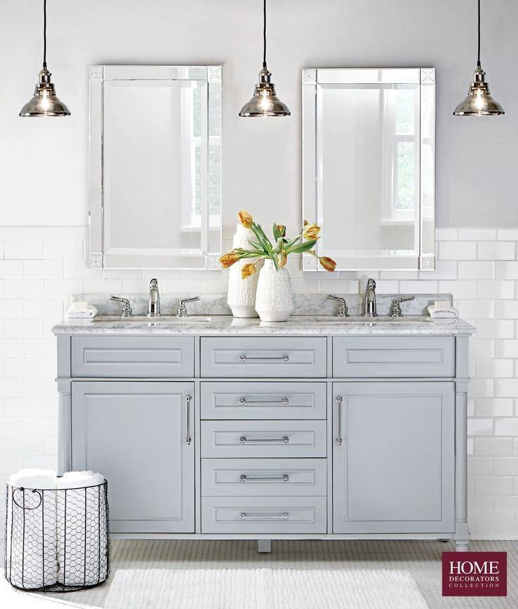 Nice Double Vanity Mirrors For Bathroom And 10 Beautiful Bathroom Regarding Double Vanity Bathroom Mirrors (#13 of 15)