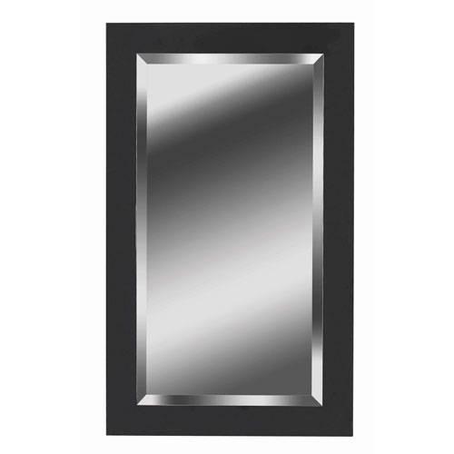 Nice Wall Mirror Black Black Metal Framed Wall Mirror Large Black Throughout Decorative Black Wall Mirrors (#11 of 15)