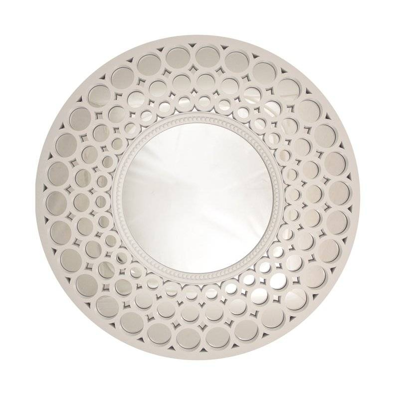 Northlight Glamorous Cascading Orbs Framed Round Wall Mirror In Round Wall Mirrors (#12 of 15)