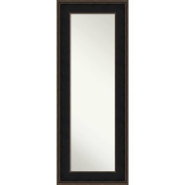 On The Door Full Length Wall Mirror, Mezzanine Espresso 22 X 56 Regarding Full Length Wall Mirrors (#14 of 15)